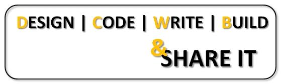 DesignCodeWriteBuildandShareIt
