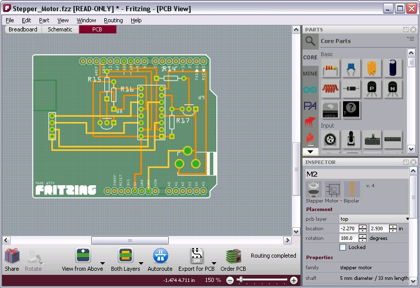 Disegnare Schemi Elettrici : Fritzing un tool perfetto per disegnare i nostri circuiti