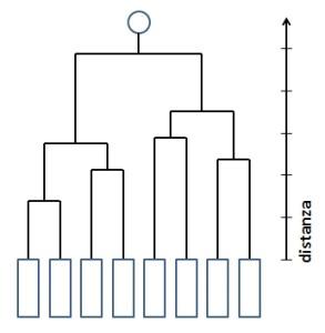 Fig.3 Il dendrogramma