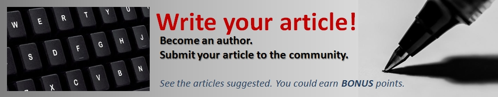 banner - write your article