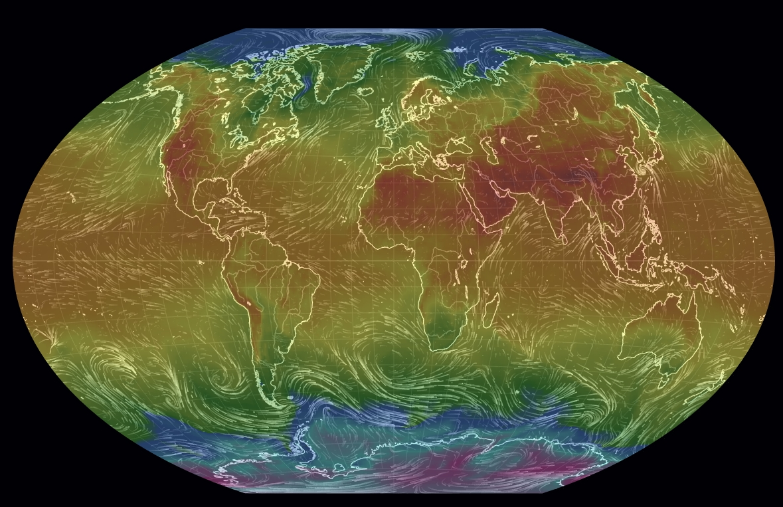 Earth Wind Map La Web Application Per I Dati Atmosferici