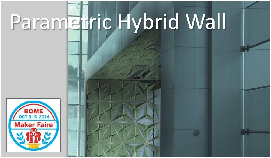 Parametric Hybrid Wall Banner