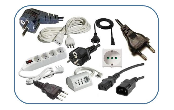 Electrical outlets and plugs for household and similar purposes ...