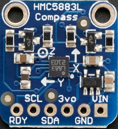 Adafruit-HMC5883L