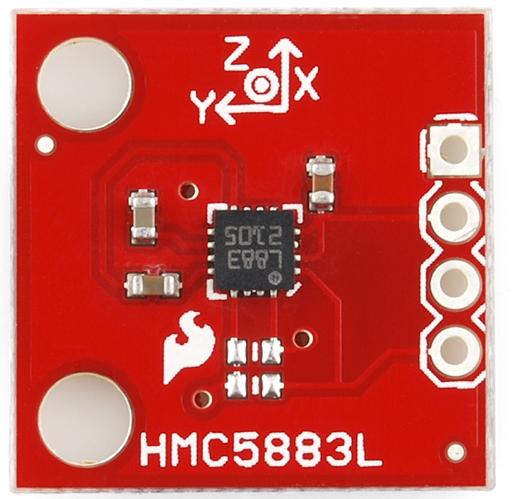 Sparkfun-HMC5883L
