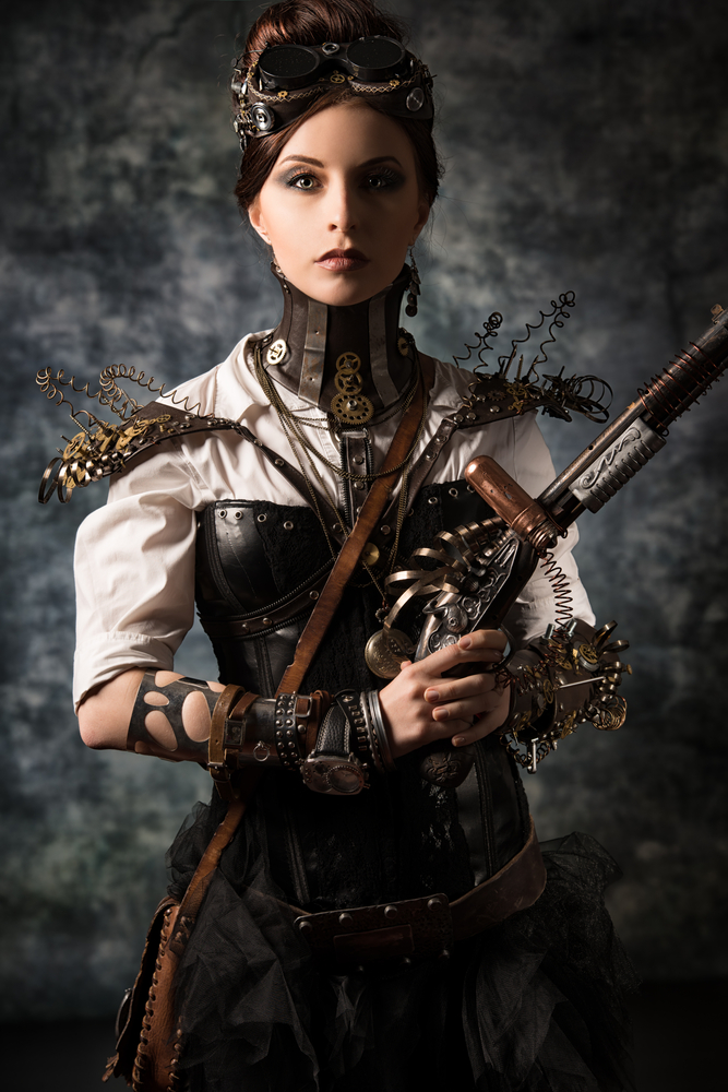 Meccanismo Complesso - steampunk woman