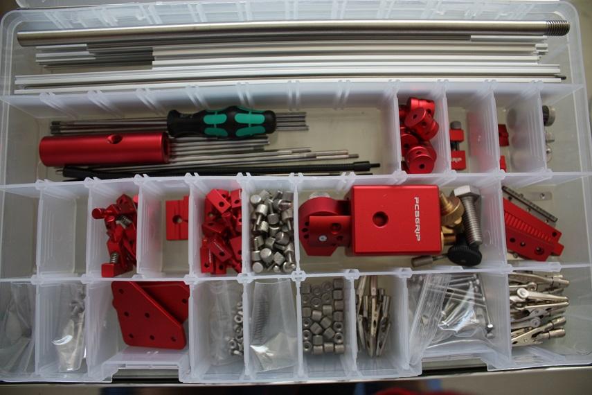 Meccanismo Complesso - PCBGrip kit open