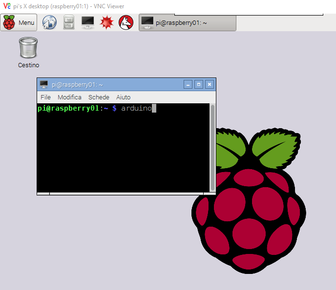 Meccanismo Complesso - Raspbian and Arduino IDE