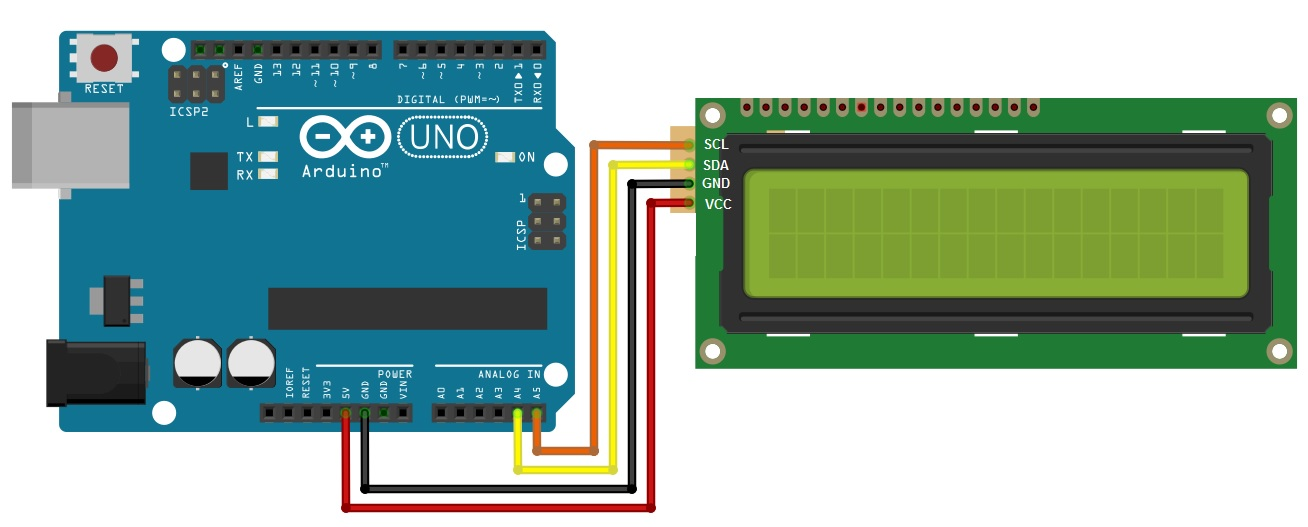 Lcd using a liquid crystal display with arduino