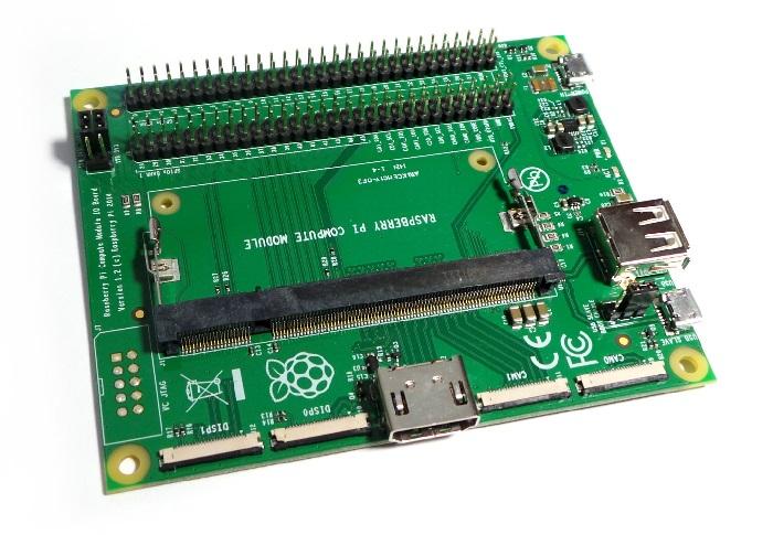 Raspberry Pi Compute module 3 IO board
