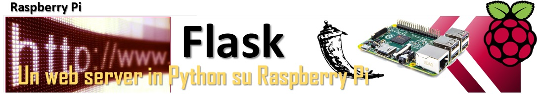 Flask - un web server in Python su Raspberry Pi