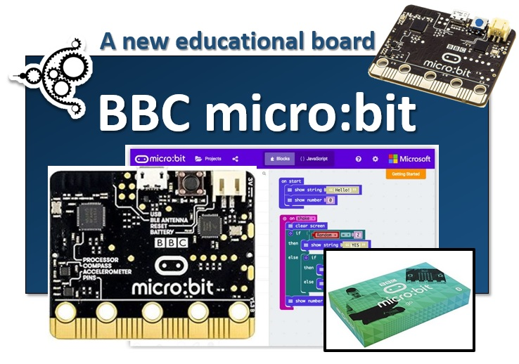 BBC microbit a new educational board