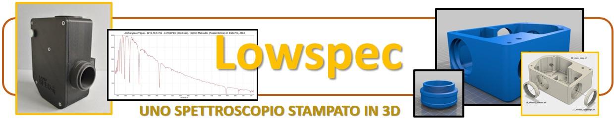 LOWSCOPE - uno spettroscopio stampato in 3D