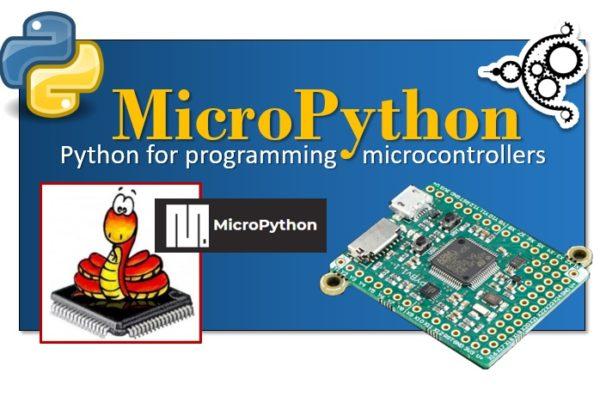 MicroPython - Python for programming microcontrollers main
