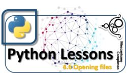 Python lessons - 4.6 Opening files m