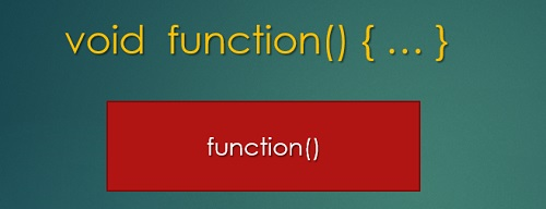 Learn how to program in C with Arduino - no parameters in functions