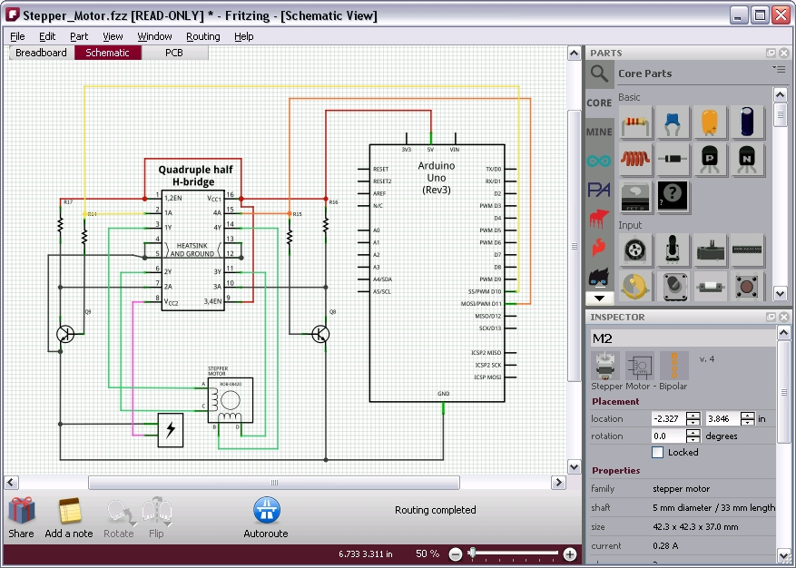 Fritzing: A perfect tool for designing our circuits - Meccanismo