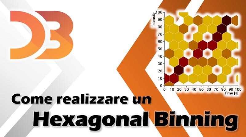 D3 - come realizzare un hexagonal Binning