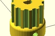 OpenSCAD-pulley04