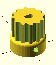 First steps with the OpenSCAD language - Meccanismo Complesso