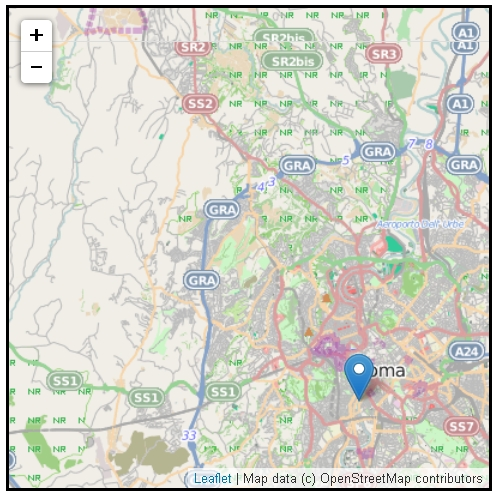 Creare mappe interattive usando la libreria Leaflet