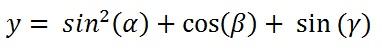trigonometric_expression