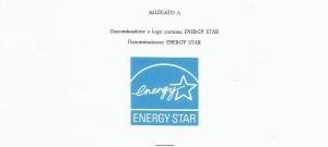 Marchio Energy star