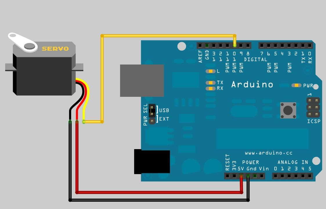 Arduino servo wiring diagram images