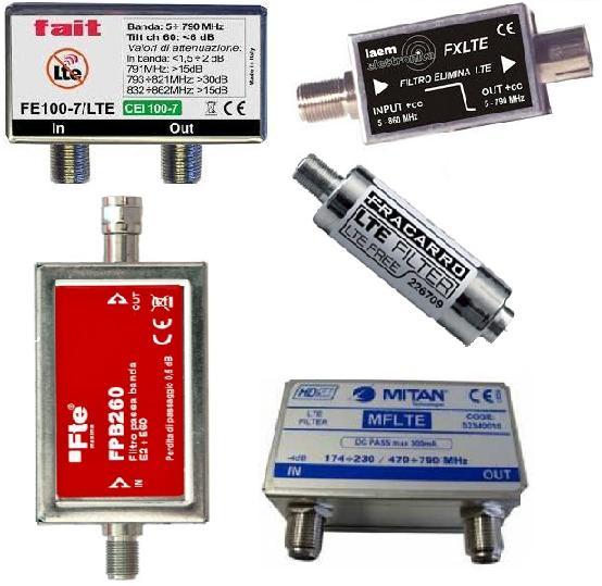 Filtri LTE