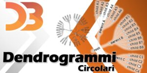 D3 - dendrogrammi circolari