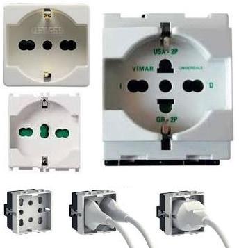 Le prese elettriche a spina per usi domestici e similari for Presa di mobili di design