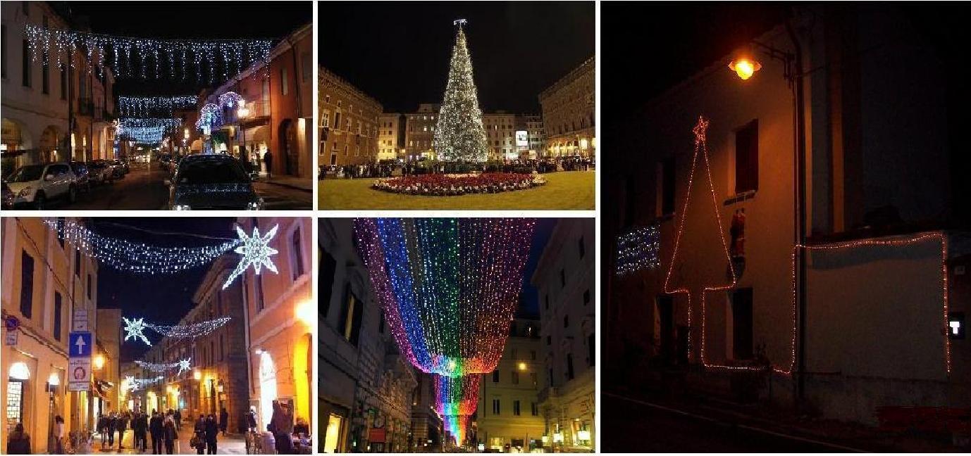 Gli addobbi natalizi luminosi meccanismo complesso - Addobbi di natale per esterno ...