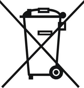 RAEE simbolo