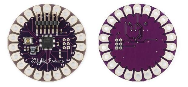 LilyPad arduino main board