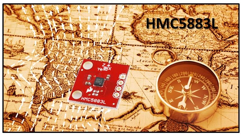 HMC5883L compass main