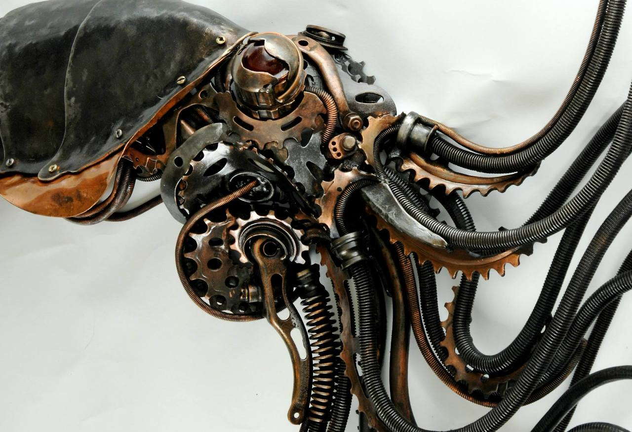 Build your steampunk keyboard meccanismo complesso for Steampunk arts and crafts