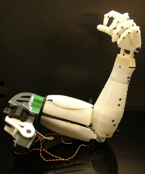 Meccanismo Complesso - InMoov arm2