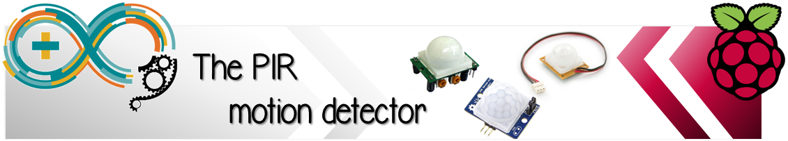 Meccanismo Complesso - The PIR motion detector banner