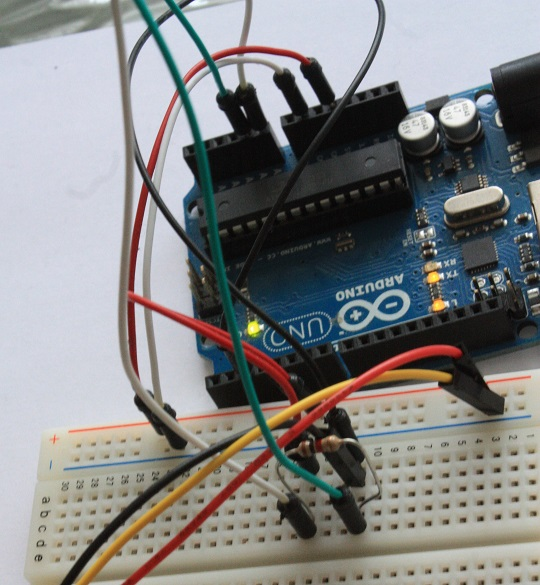 Meccanismo Complesso - PIR motion control Arduino Probe