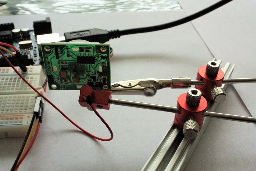 Meccanismo Complesso - PIR motion control Arduino Probe 02