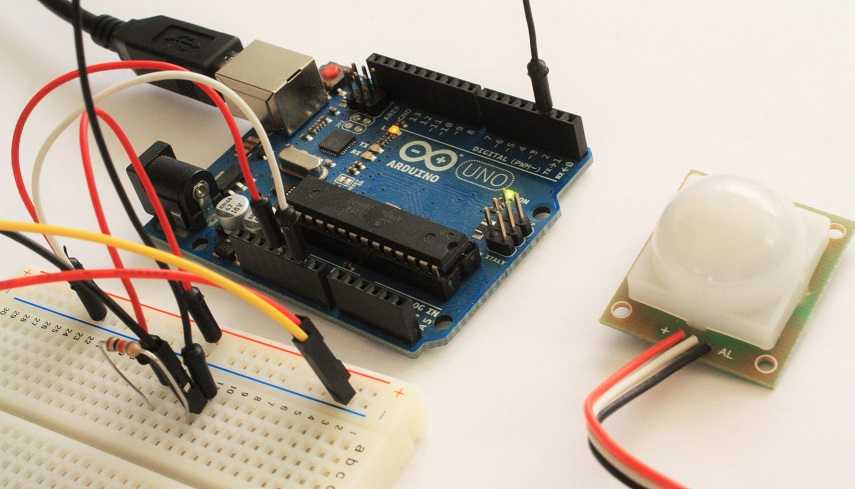 Meccanismo Complesso - Pir e Arduino 01