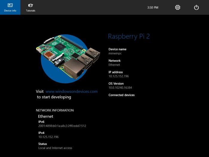 Meccanismo Complesso - Windows 10 IoT x Raspberry