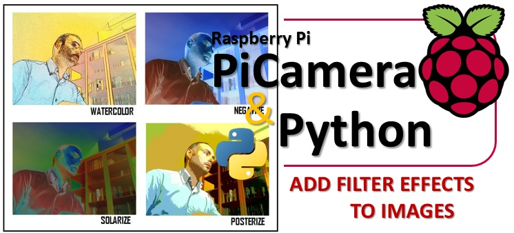 PiCamera Python Add filter effects to images