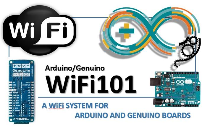 Arduino Genuino WiFi101 a wifi system