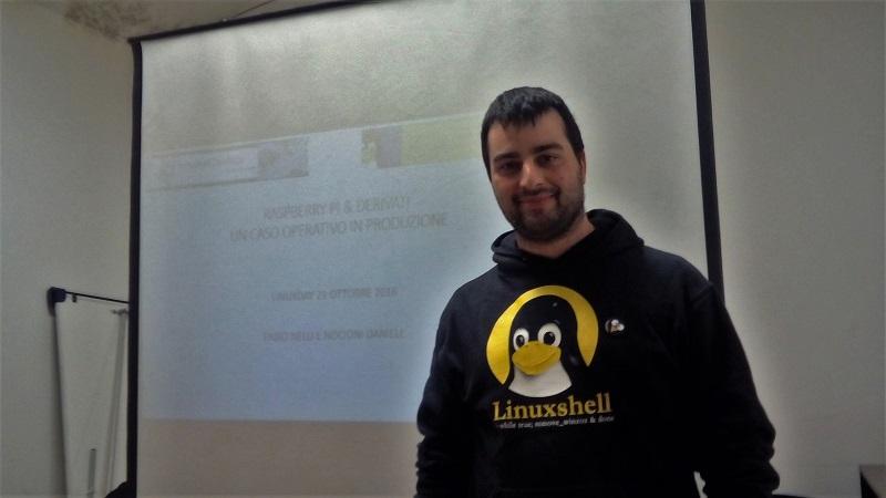 LinuxDay 2016 - Daniele Nocioni
