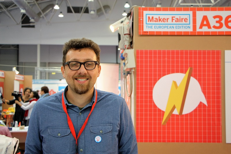 Nicola Coppedè - Maker Faire 2016