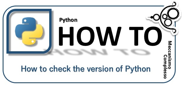 How to check the version of Python