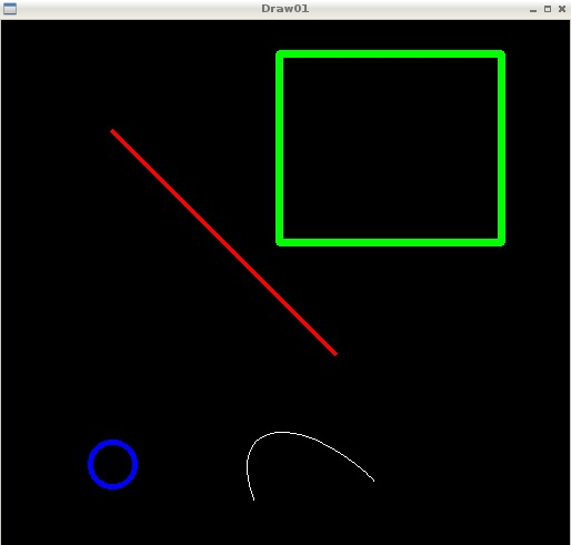 OpenCV & Python – Drawing shapes and text on images - Meccanismo