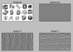 OpenCV filtri per la ricerca del gradiente di immagini