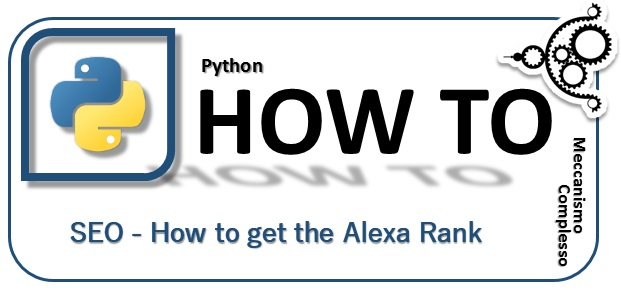 Python - SEO - how to get the Alexa Rank m